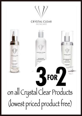December Crystal Clear Offer Silk Salon