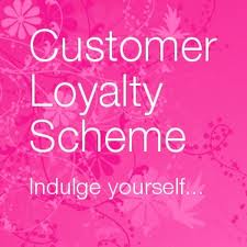 customer loyalty scheme silk hair and beauty salon paisley