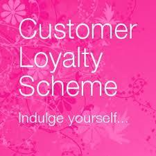 customer loyalty scheme silk hair and beauty salon paisley