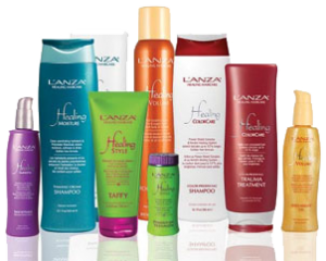 lanza products silk hair salon paisley