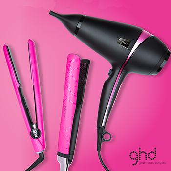 Silk Salon Paisley Electric Pink GHDs