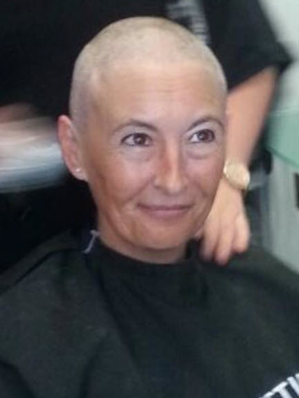 "Linda Ward - ""Brave the Shave"""